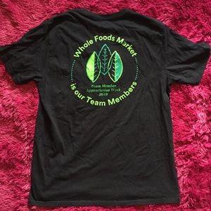 WFM TMAW 2019 black t-shirt 🍃